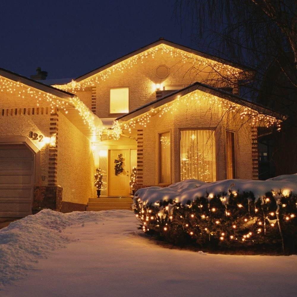10m Outdoor Solar Copper String Led Outdoor Waterproof String Light Holiday Decoration Garden (3)