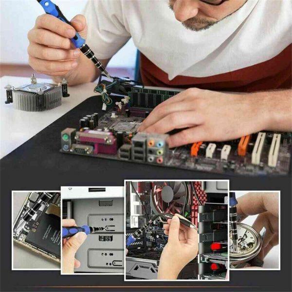 115 In 1 Magnetic Screwdriver Multi Function Professional Repair Fixing Tool Kit (4)