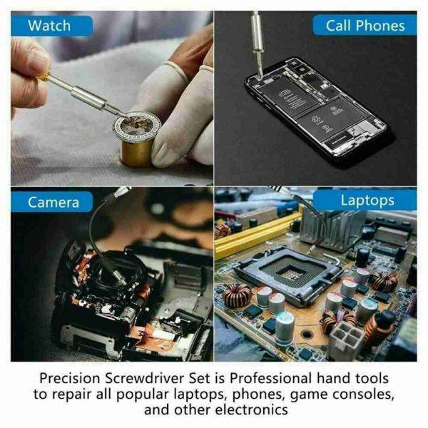 115 In 1 Magnetic Screwdriver Multi Function Professional Repair Fixing Tool Kit (5)