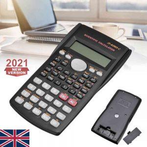 12 Digits Scientific Electronic Calculator For Office School Exams Gcse Work Uk (1)
