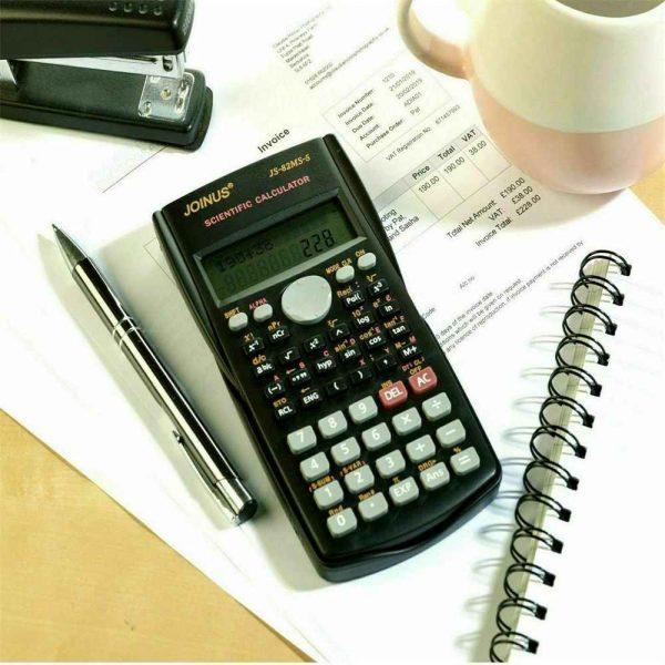 12 Digits Scientific Electronic Calculator For Office School Exams Gcse Work Uk (10)