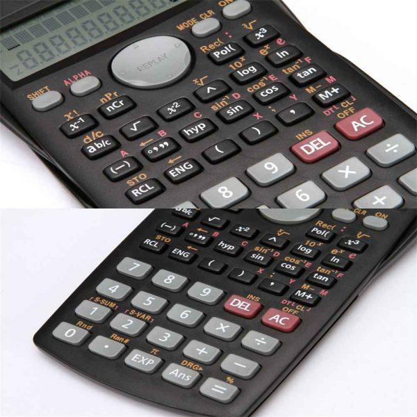 12 Digits Scientific Electronic Calculator For Office School Exams Gcse Work Uk (15)
