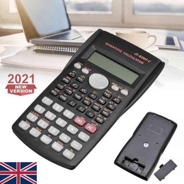 12 Digits Scientific Electronic Calculator For Office School Exams Gcse Work Uk (2)
