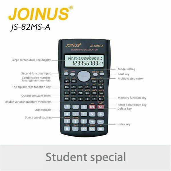 12 Digits Scientific Electronic Calculator For Office School Exams Gcse Work Uk (9)
