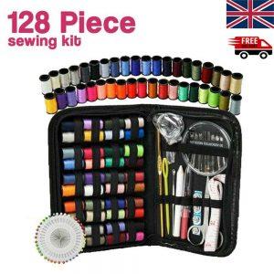 128pcs Diy Multi Function Sewing Box Set Portable Travel Emergency Sewing Kit (1)