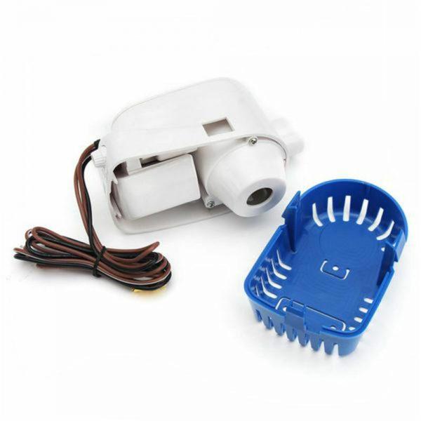 12v 1100gph Marine Automatic Submersible Bilge Pump Auto Float Switch Internal (12)