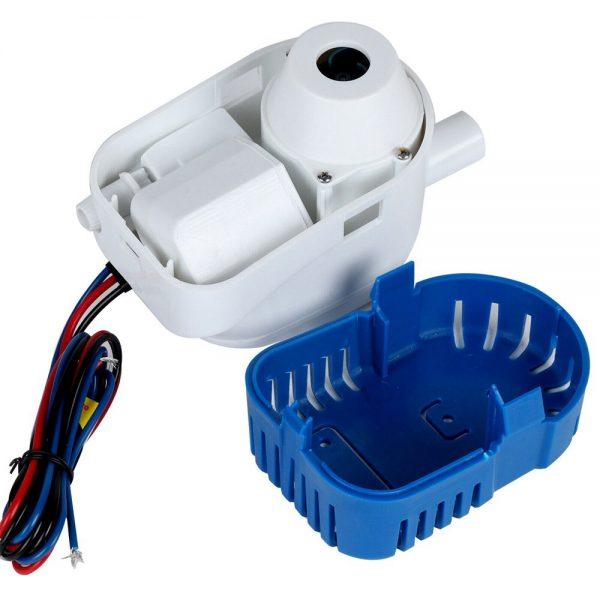 12v 1100gph Marine Automatic Submersible Bilge Pump Auto Float Switch Internal (5)