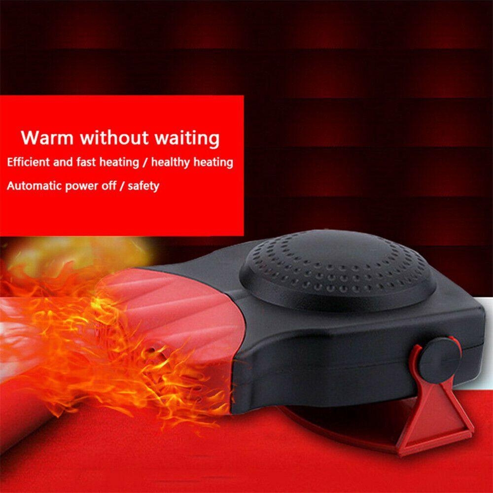 150w 12v Car Heater Fan Defogger Defroster Demister Heating Warmer Windscreen (10)