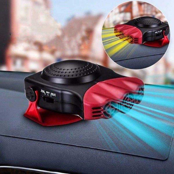 150w 12v Car Heater Fan Defogger Defroster Demister Heating Warmer Windscreen (2)