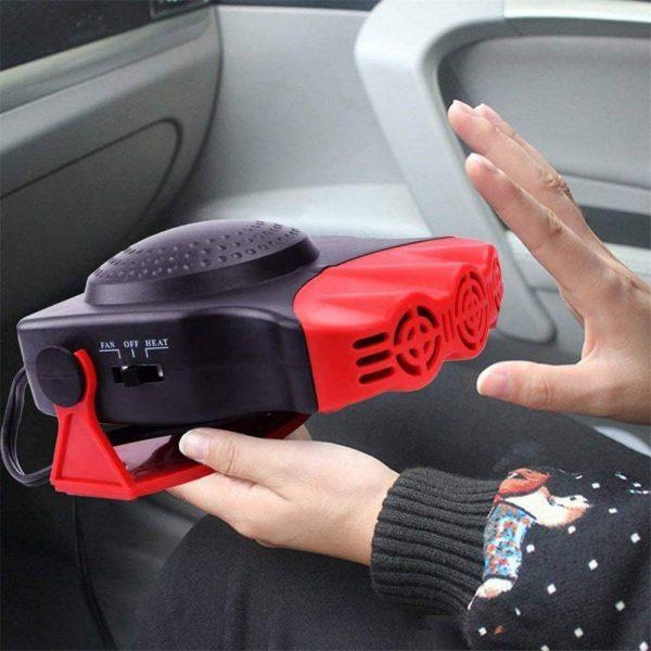 150w 12v Car Heater Fan Defogger Defroster Demister Heating Warmer Windscreen (3)