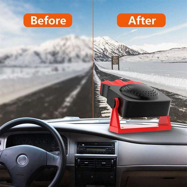 150w 12v Car Heater Fan Defogger Defroster Demister Heating Warmer Windscreen (9)