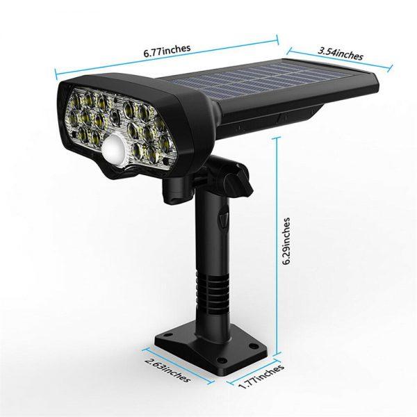 17 Led Solar Power Lamps Garden Wall Motion Sensor Spot Yard Light Outdoor (10)