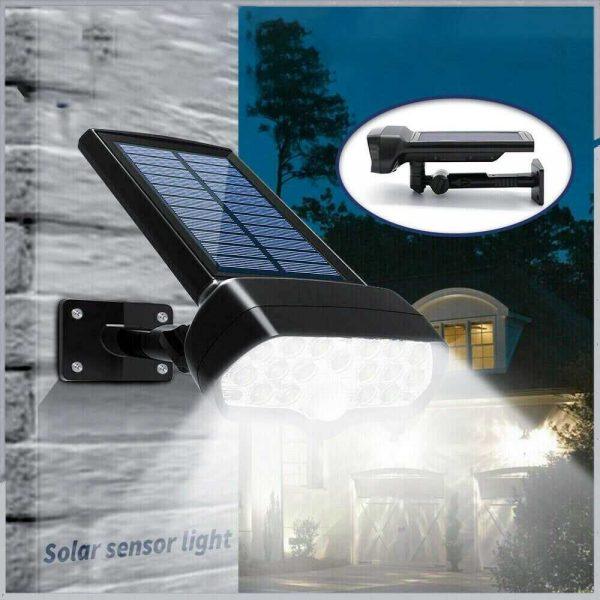 17 Led Solar Power Lamps Garden Wall Motion Sensor Spot Yard Light Outdoor (12)
