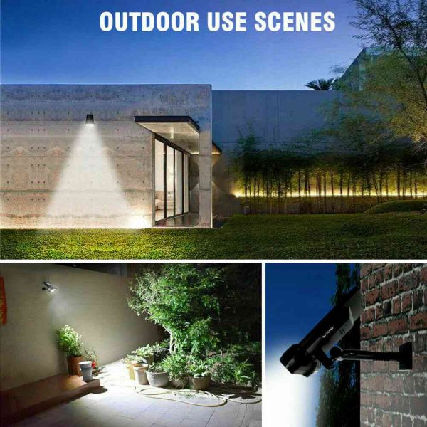 17 Led Solar Power Lamps Garden Wall Motion Sensor Spot Yard Light Outdoor (14)