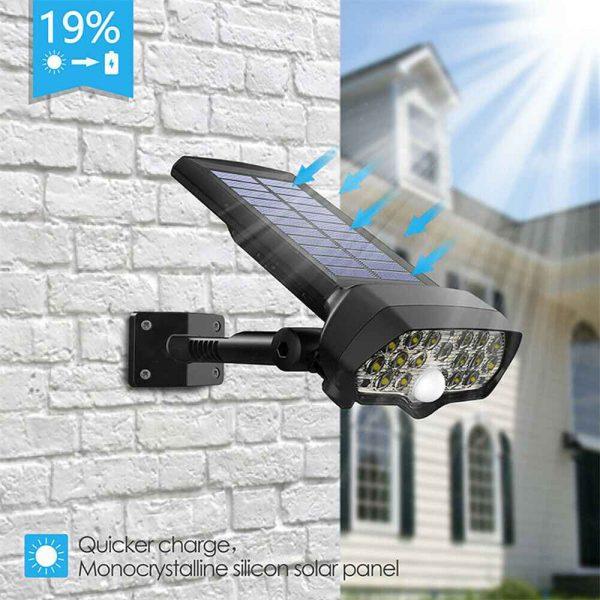 17 Led Solar Power Lamps Garden Wall Motion Sensor Spot Yard Light Outdoor (8)