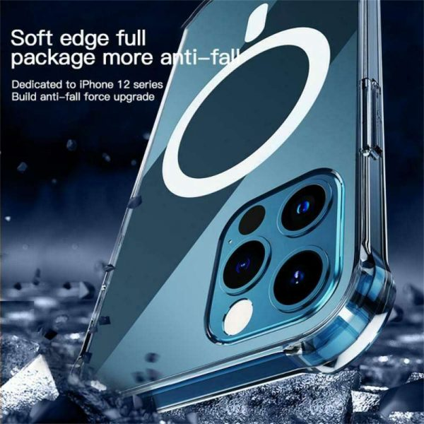 2021 New Clear Magnetic Hard Case For Apple Iphone 12 Propro Max Mag Safe Cover (10)