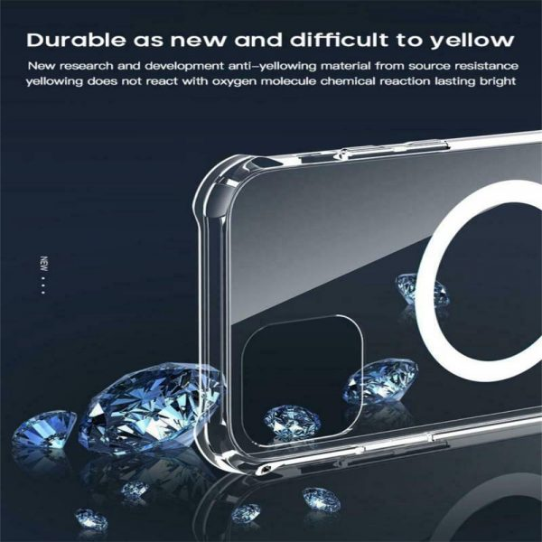 2021 New Clear Magnetic Hard Case For Apple Iphone 12 Propro Max Mag Safe Cover (12)