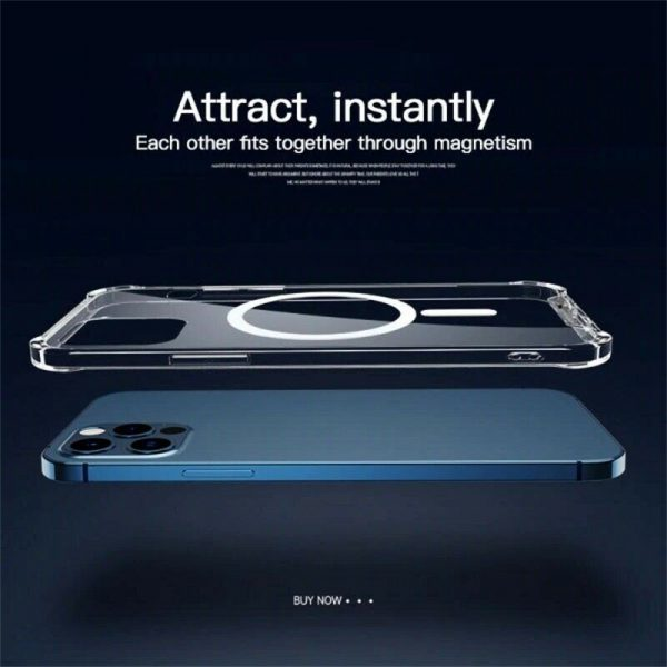 2021 New Clear Magnetic Hard Case For Apple Iphone 12 Propro Max Mag Safe Cover (13)