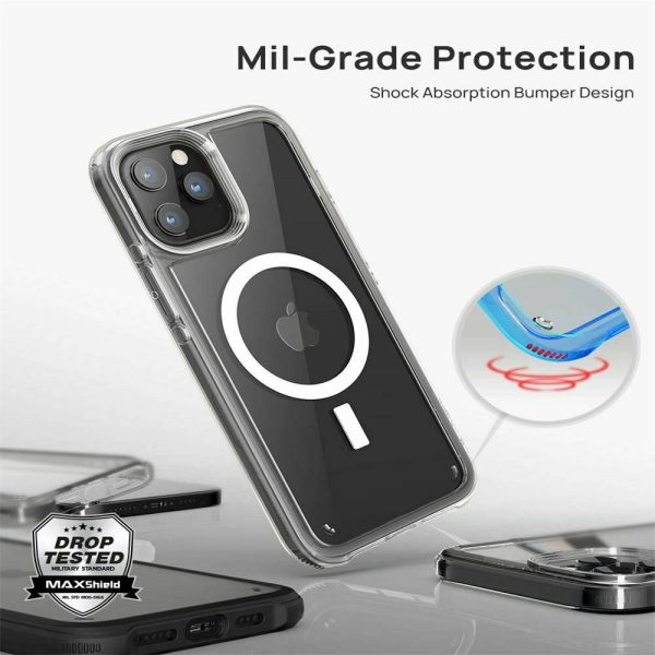 2021 New Clear Magnetic Hard Case For Apple Iphone 12 Propro Max Mag Safe Cover (17)