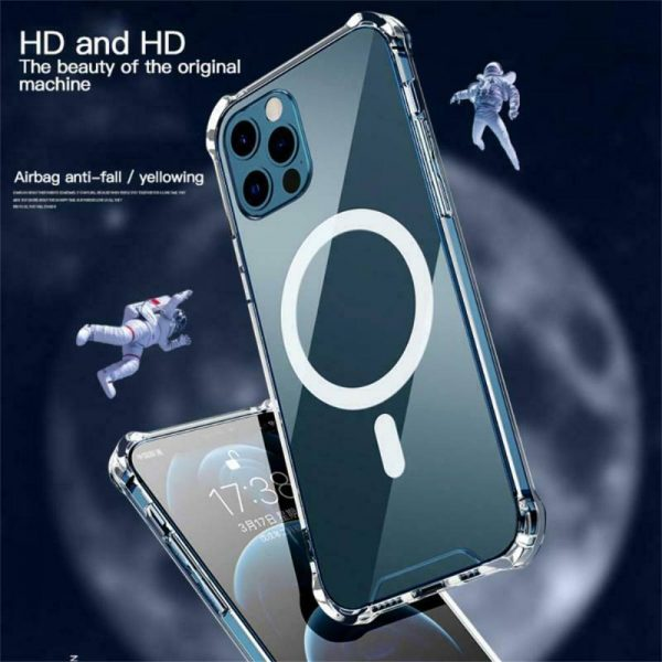 2021 New Clear Magnetic Hard Case For Apple Iphone 12 Propro Max Mag Safe Cover (8)