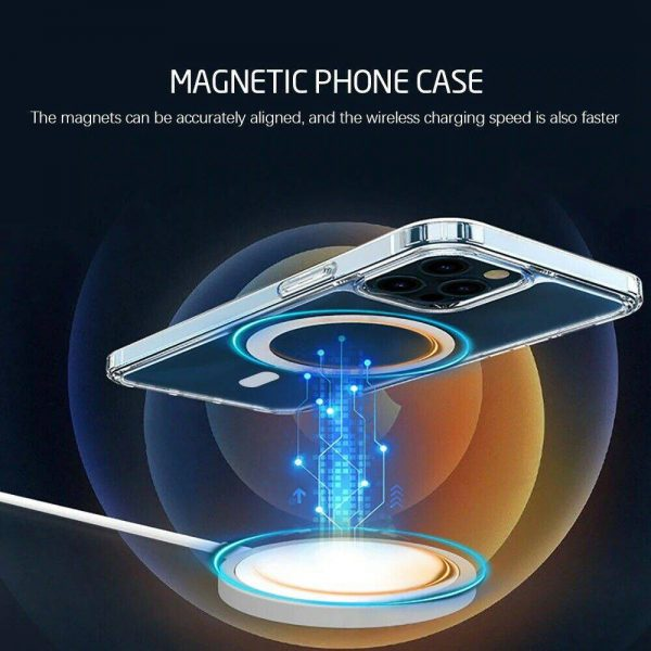 2021 New Clear Magnetic Hard Case For Apple Iphone 12 Propro Max Mag Safe Cover (9)