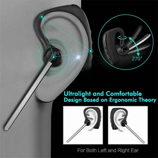 2021 Wireless Bluetooth 5.0 Earbud Headset Hands Free Headphone For Iphone (8)