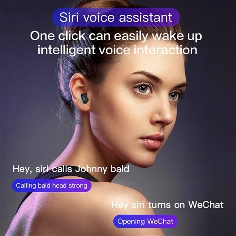 2021fashionable Stereo Earphone Headphones Wireless Earbud 8d Stereo With Charging Box Long Battery Life (2)