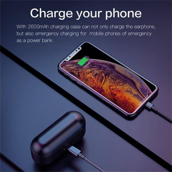 2021fashionable Stereo Earphone Headphones Wireless Earbud 8d Stereo With Charging Box Long Battery Life (7)