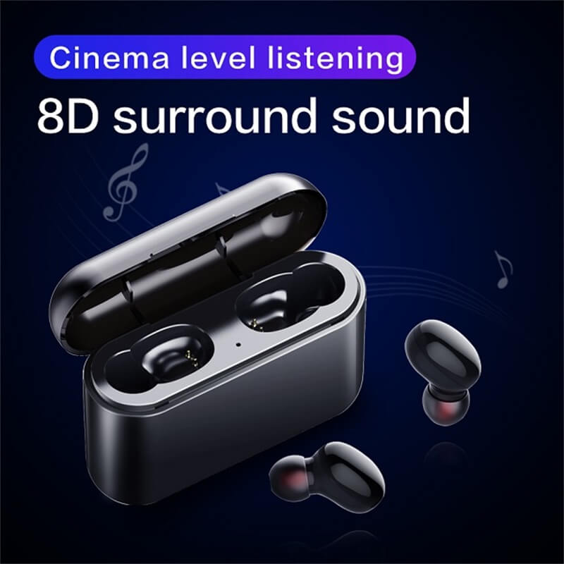 2021fashionable Stereo Earphone Headphones Wireless Earbud 8d Stereo With Charging Box Long Battery Life (9)