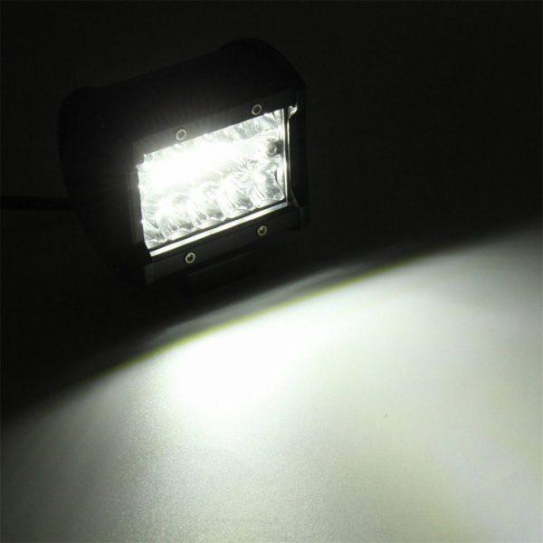 2x 4 Inch 200w Led Work Light Bar Pods Flush Mount Combo Driving 12v Lamps (6)