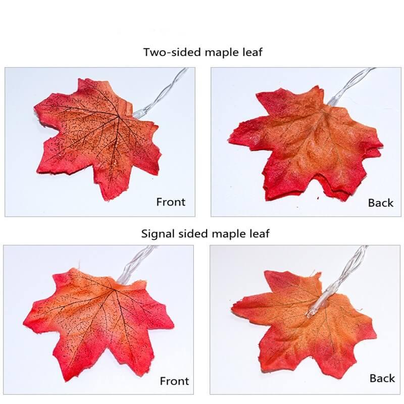 4 Meter Maple Leaf Light Usb Battery Window Curtain Flower Maple Leaf Festoon Decorative String Lights (4)