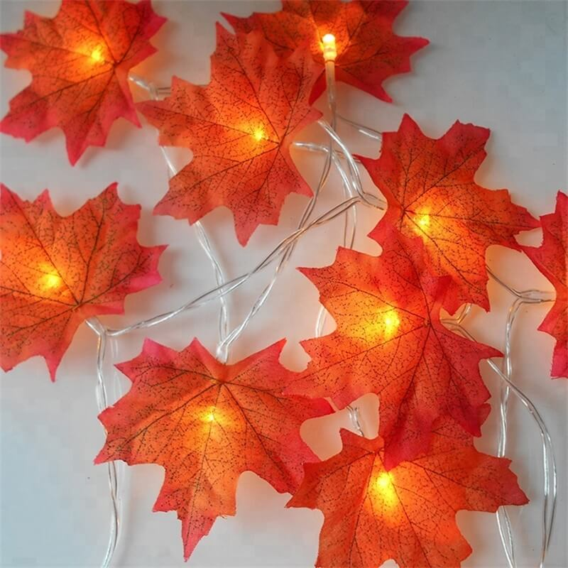 4 Meter Maple Leaf Light Usb Battery Window Curtain Flower Maple Leaf Festoon Decorative String Lights (9)