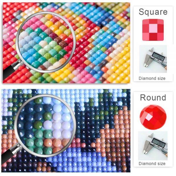 54pcs Diy Diamond Painting Tools Diamond Embroidery Tray Box Set (10)