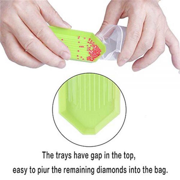 54pcs Diy Diamond Painting Tools Diamond Embroidery Tray Box Set (11)