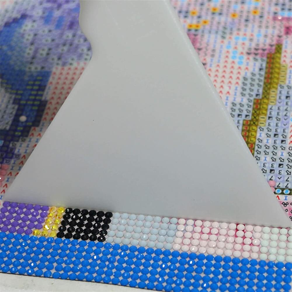 54pcs Diy Diamond Painting Tools Diamond Embroidery Tray Box Set (8)