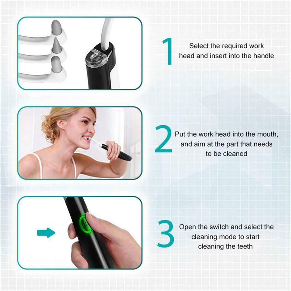 5in1 Electric Sonic Dental Scaler Tartar Calculus Plaque Remover Teeth Cleaner (10)