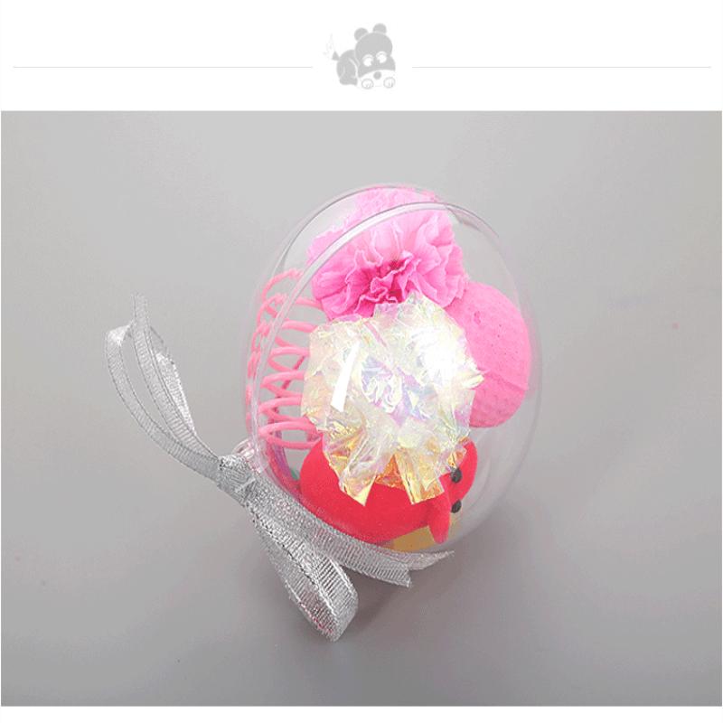 6cm Ps Plastic Transparent Ball Transparent Decorating Christmas Small Plastic Balls (3)
