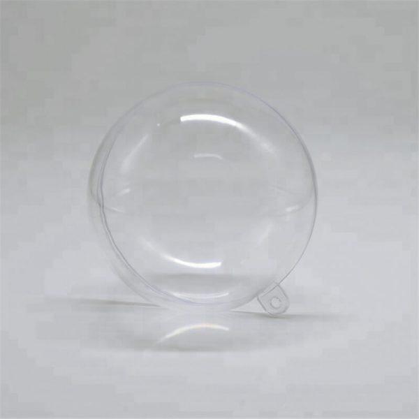 6cm Ps Plastic Transparent Ball Transparent Decorating Christmas Small Plastic Balls (7)