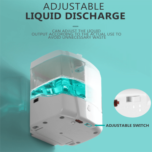 700ml Automatic Hand Sanitizer Dispense Household Touch Free Touchless Wall Mounted (1)