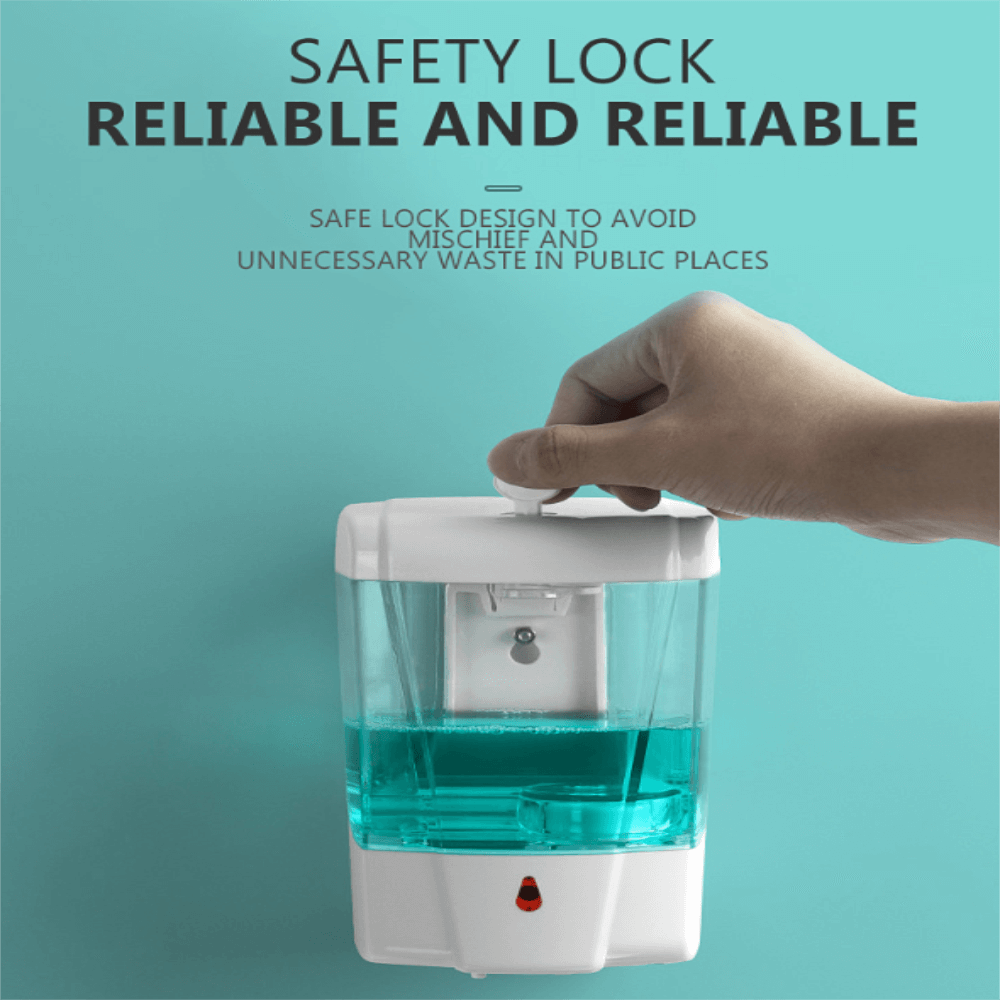 700ml Automatic Hand Sanitizer Dispense Household Touch Free Touchless Wall Mounted (3)