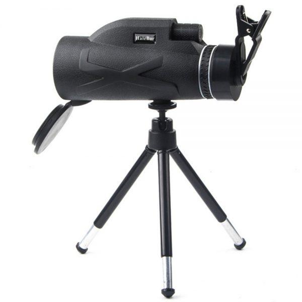 80x100 Hd Monocular Telescope Phone Camera Zoom Starscope Hiking Tripod Tools (1)