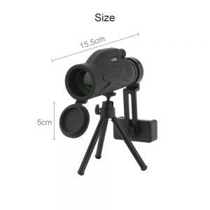 80x100 Hd Monocular Telescope Phone Camera Zoom Starscope Hiking Tripod Tools (16)