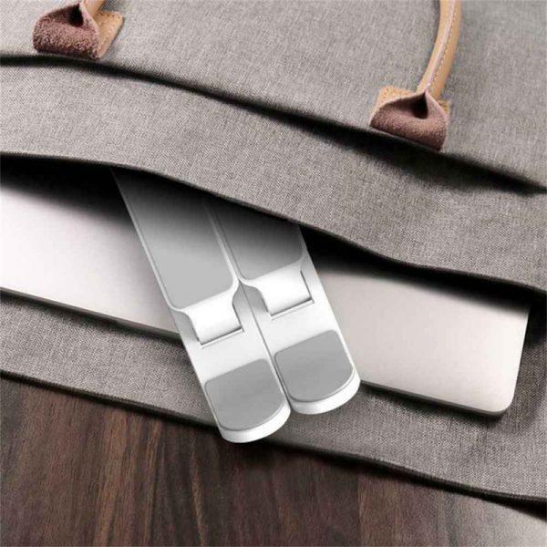 Adjustable Foldable Laptop Stand Fr Desk Portable Notebook Riser Computer Holder (16)