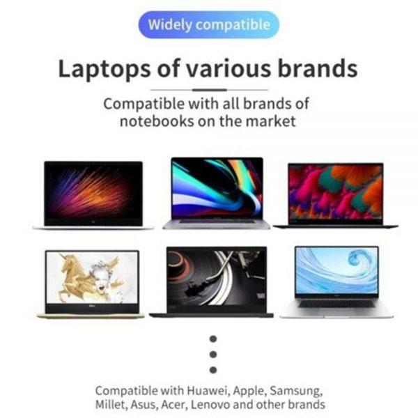 Adjustable Foldable Laptop Stand Fr Desk Portable Notebook Riser Computer Holder (8)
