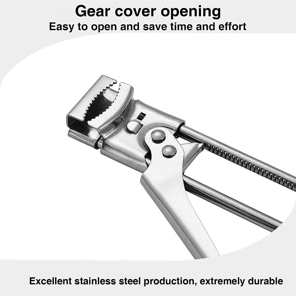 Adjustable Multifunctional Stainless Steel Can Opener Jar Lid Gripper Kitchen (12)