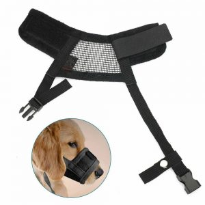 Adjustable Pet Dog Mask Small&large Mouth Muzzle Grooming Anti Stop Bark Bite (14)