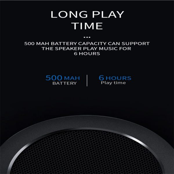 Ball Wireless Speaker Smart Portable Mini Boombox With Led Light (1)