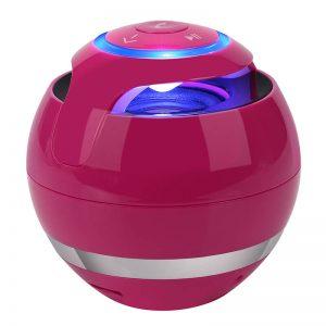 Ball Wireless Speaker Smart Portable Mini Boombox With Led Light (9)