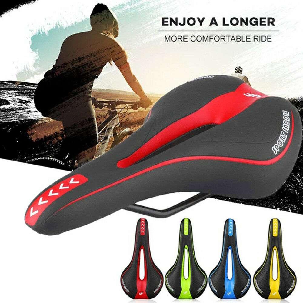 Bicycle Mtb Bike Cycling Saddle Road Mountain Gel Pad Sports Soft Cushion Seat (1)