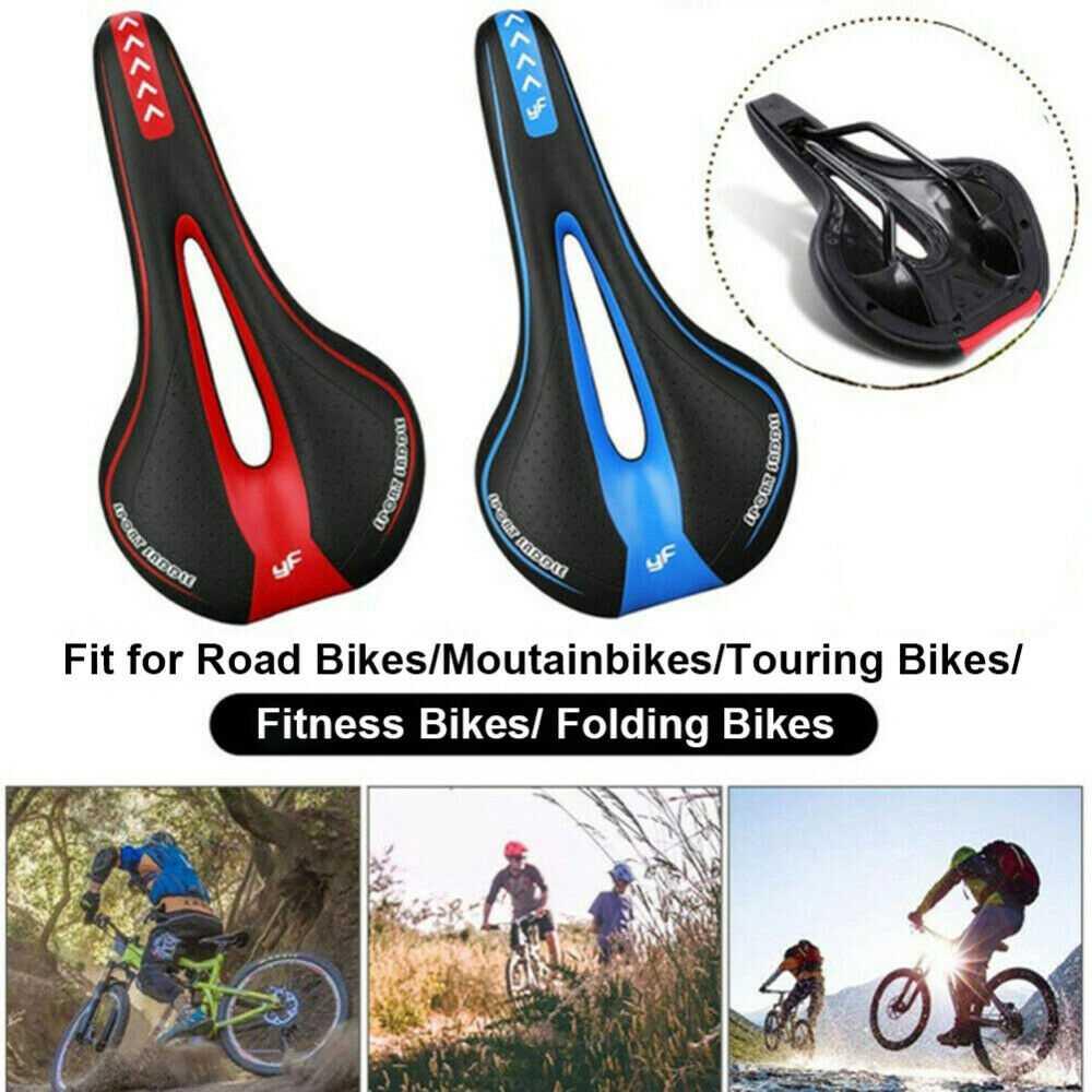 Bicycle Mtb Bike Cycling Saddle Road Mountain Gel Pad Sports Soft Cushion Seat (17)
